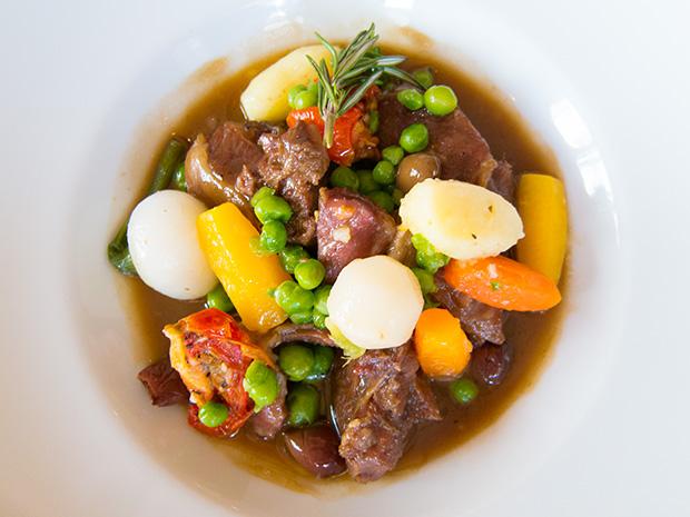Drouant - Daube d'agneau aux olives et romarin