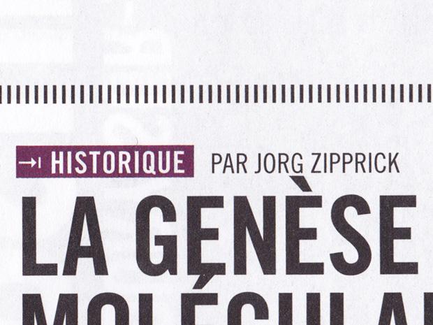 Jorg Zipprick - La genèse du moléculaire selon Harold McGee