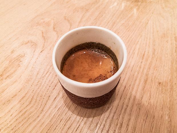 David Toutain - Café éthiopien, Café Coutume