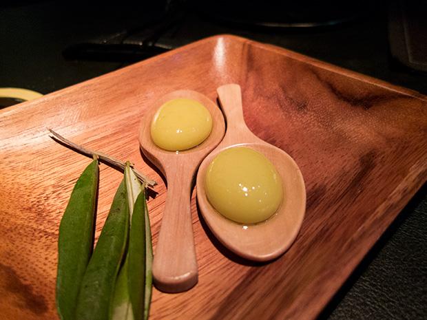 41° Experience - Sphérifications d'olive et anchois