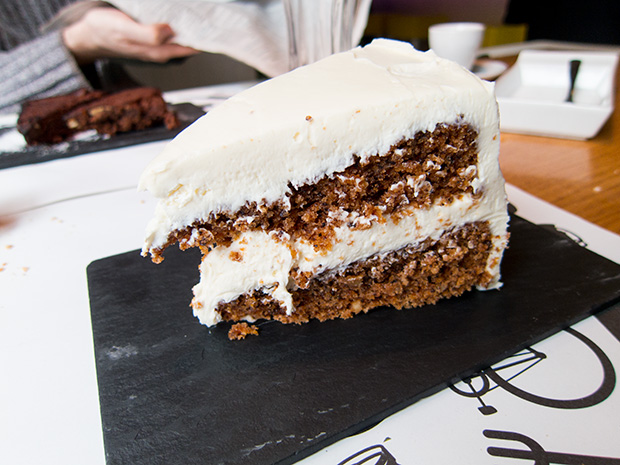 La Tape - Madrid - Carrot cake