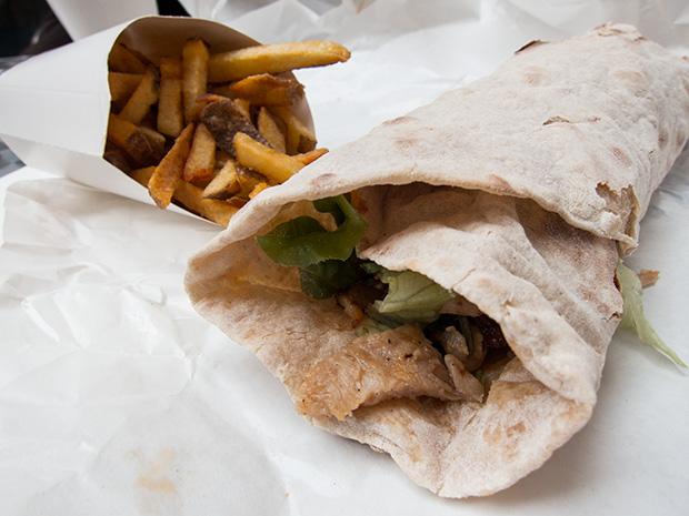 Grillé - Kebab, frites