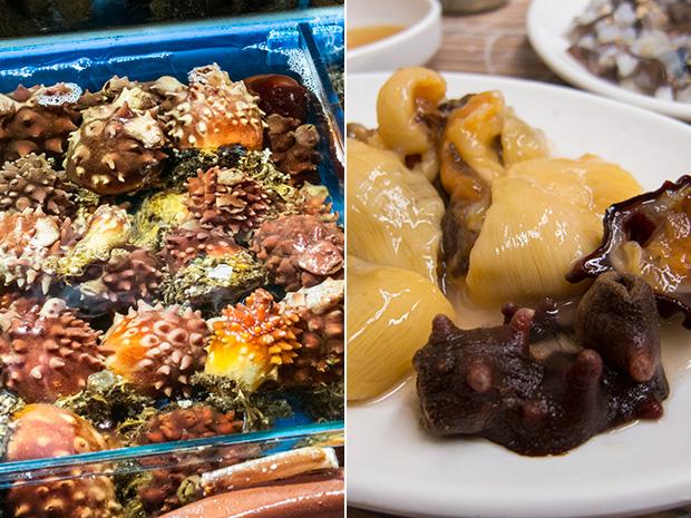 Marché aux poissons Noryangjin - Meongge