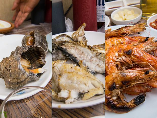 Marché aux poissons Noryangjin - Fruit de mer, poisson et crevettes