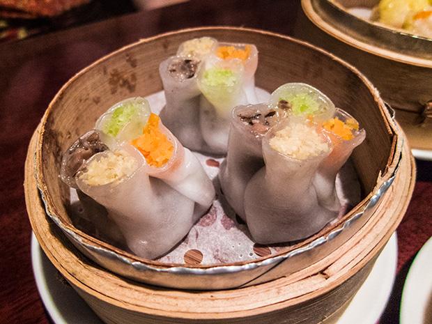 Mong Jung Heon - Trois champignons et pousse de bambou