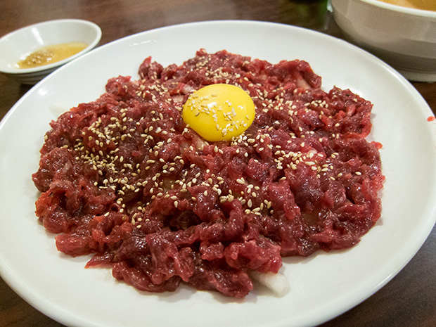 Marché Gwangjang - Zamezip - Yukhoe