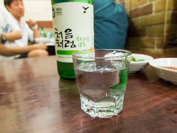 Marché Gwangjang - Zamezip - Soju