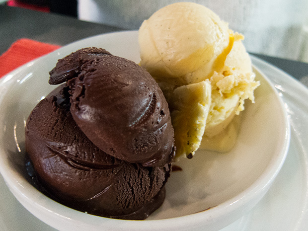 Christian Constant - Glaces à la vanille et sorbet cacao