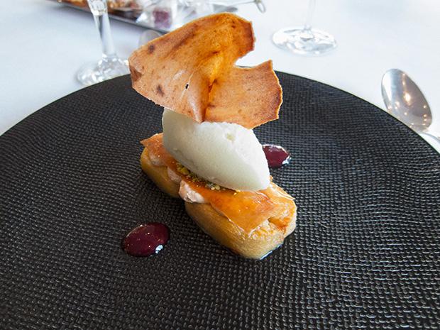 Le Jardin des Sens - Dessert au pommes