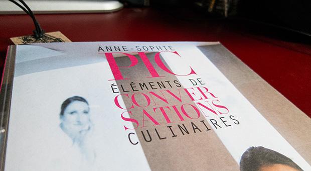 Élements de conversations culinaires - Anne-Sophie Pic