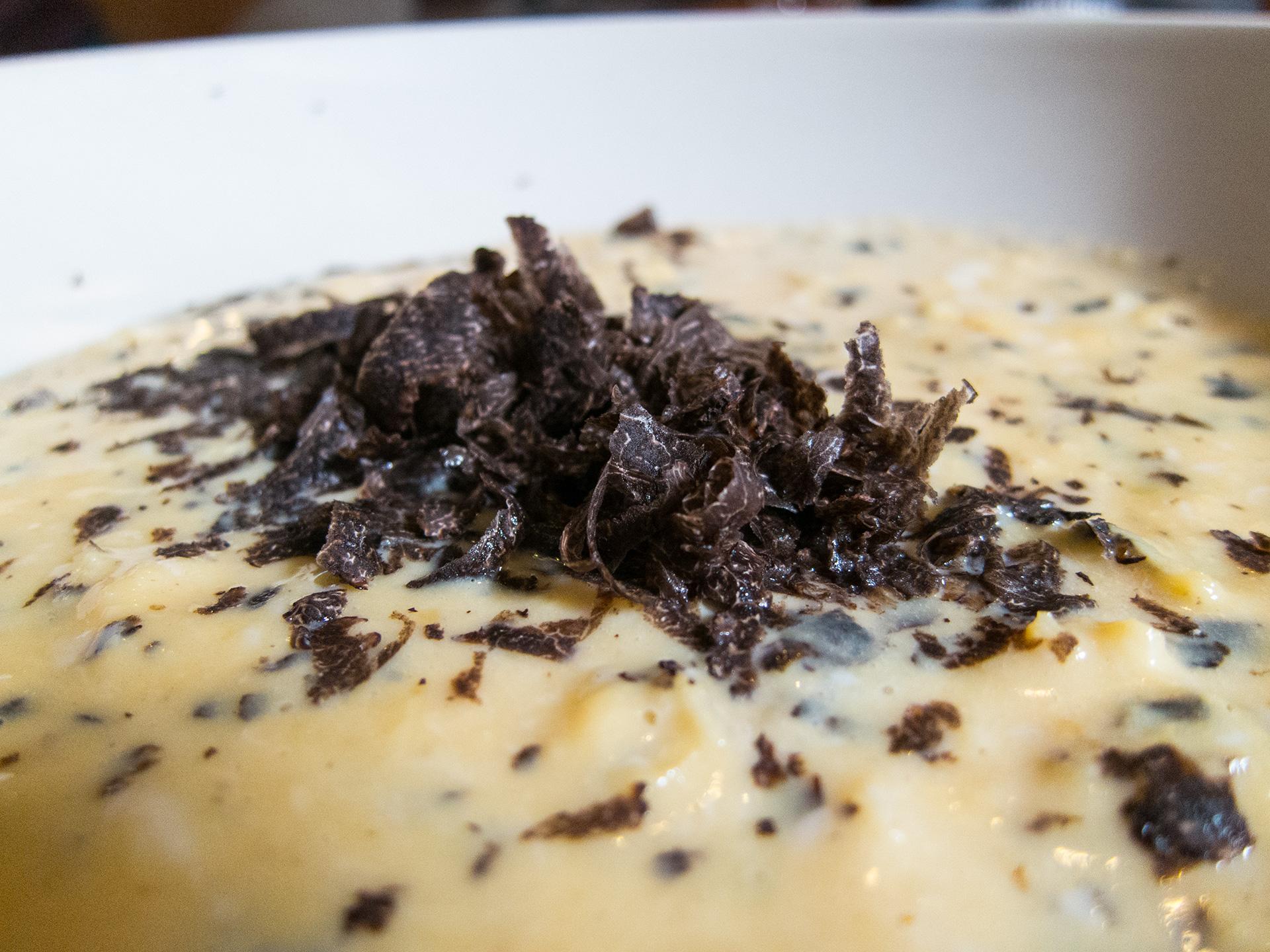 Cuisson sous vide à juste température - Œufs brouillés sous vide à la truffe