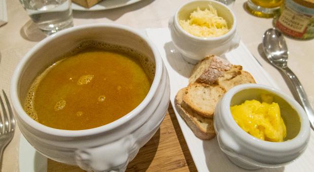 L'Oranger - Soupe de poisson, rouille, croûtons