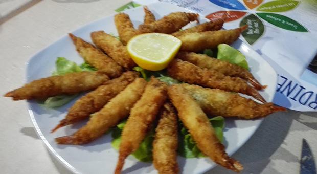 L'Olivier - Crevettes frites