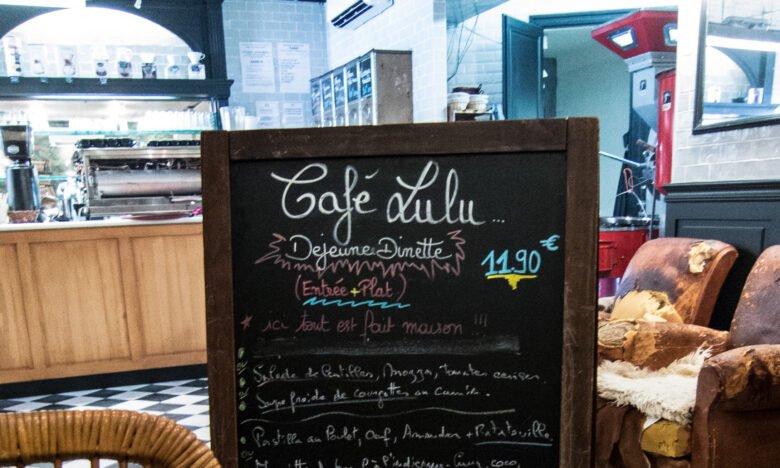 Café Lulu - Menu
