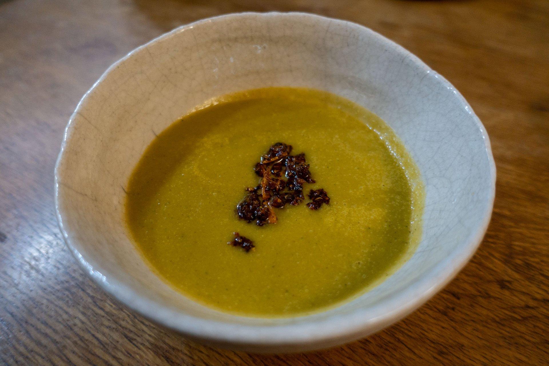 """Soupe d'automne et """"chili crisp"""""""