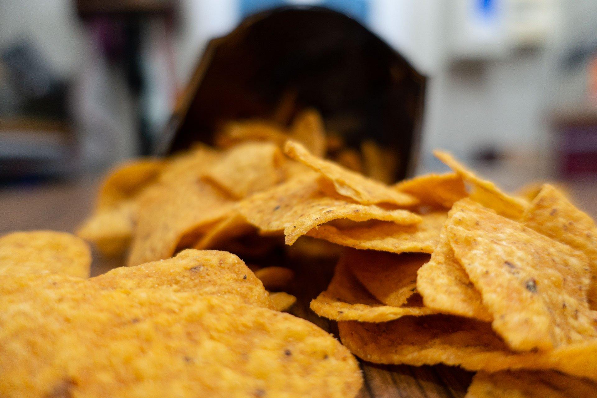 chips de maïs industriels